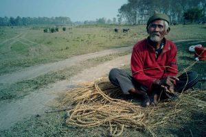 BLIND MAN Nepal Chitwan